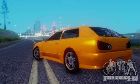 Elegy Hatchback v.1 для GTA San Andreas вид справа