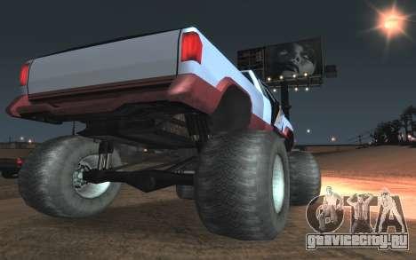 Новые текстуры Monster Final для GTA San Andreas вид сзади
