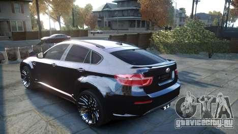 HAMANN BMW X6 2011 Tycoon EVO M v1.0 TSE для GTA 4 вид сзади слева