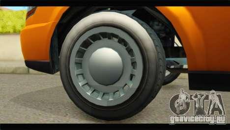 GTA 5 Dundreary Stretch для GTA San Andreas вид сзади слева