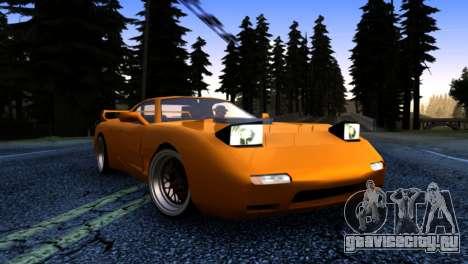 ZR-350 by Verone v.1 для GTA San Andreas вид сзади