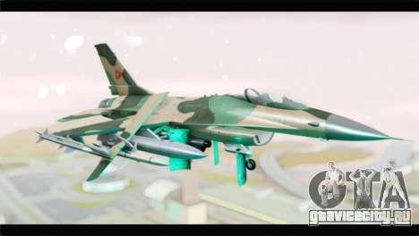 F-16A Fuerza Aerea Venezolana для GTA San Andreas