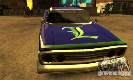 Luni Voodoo для GTA San Andreas вид сверху