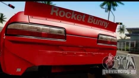Nissan Silvia S13 Rocket Bunny для GTA San Andreas вид справа