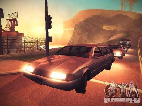 ENB Caramelo для GTA San Andreas второй скриншот