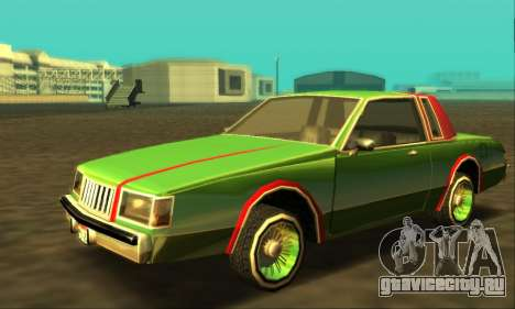 Majestic Restyle для GTA San Andreas