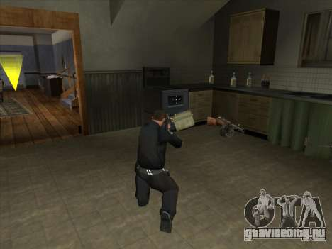 КОРД из Battelfield 2 для GTA San Andreas третий скриншот