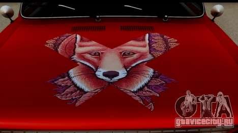 ВАЗ 2101 FOX для GTA San Andreas вид сзади