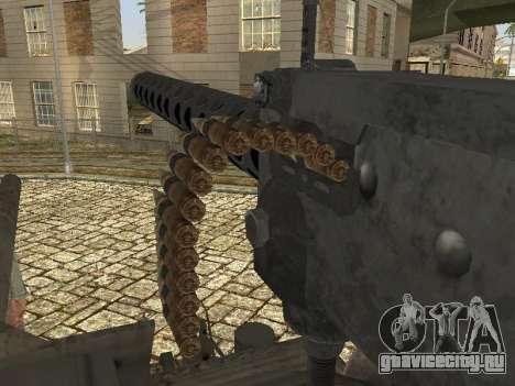 Танк M4 Sherman для GTA San Andreas вид сбоку
