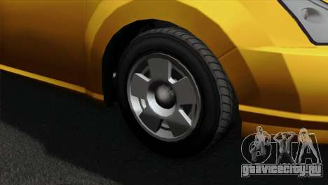 GTA 5 Karin Dilettante для GTA San Andreas вид сзади слева