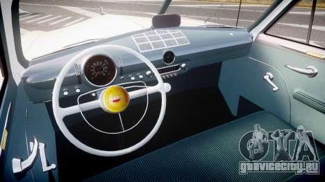 Ford Custom Fordor 1949 v2.2 для GTA 4 вид сзади