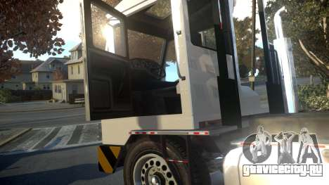 GTA V Dock Tug для GTA 4 вид изнутри