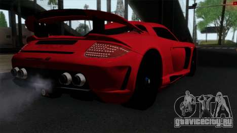 Gemballa Mirage GT v3 Windows Up для GTA San Andreas вид слева