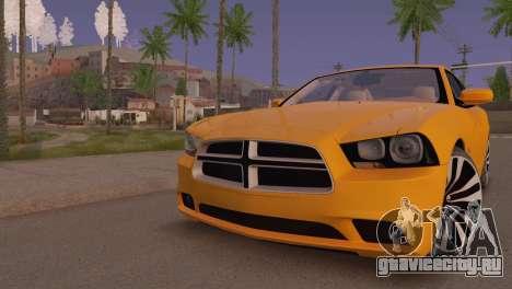 Dodge Charger SRT8 2012 Stock Version для GTA San Andreas вид слева
