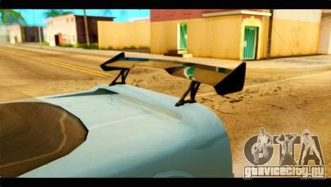 Infernus Rapide GTS Stock для GTA San Andreas вид справа