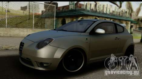 Alfa Romeo Mito Tuning для GTA San Andreas