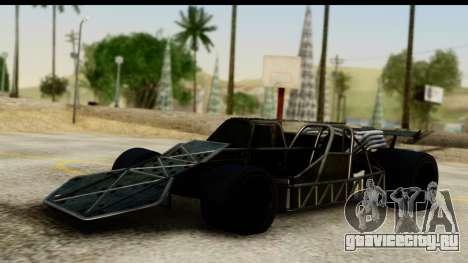 Flip Car 2012 для GTA San Andreas