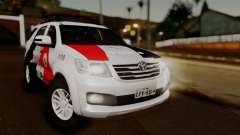 Toyota Hilux SW4 2014 Forca Tatica для GTA San Andreas