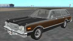 Plymouth Volare Wagon 1976 wood для GTA San Andreas