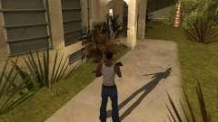 Тень от людей и автомобилей для GTA San Andreas