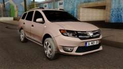 Dacia Logan MCV 2013 IVF для GTA San Andreas