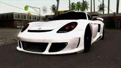 Gemballa Mirage GT v2 Windows Up для GTA San Andreas