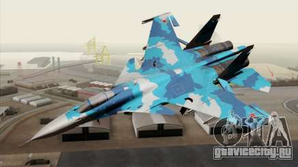 SU-33 Flanker-D Blue Camo для GTA San Andreas