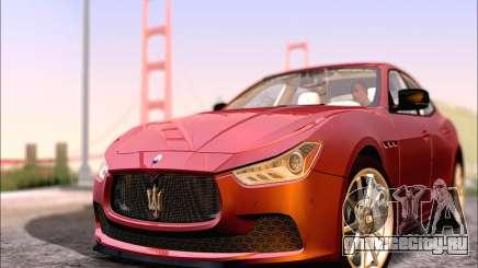 Maserati Ghibli 2014 для GTA San Andreas