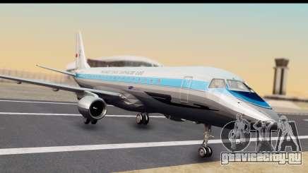 Embraer 175 PLL LOT Retro для GTA San Andreas