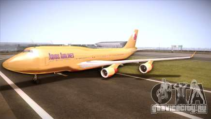 GTA V 747 Adios Airlines для GTA San Andreas