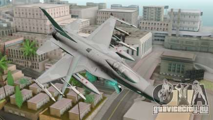 F-16C Jastrzab для GTA San Andreas
