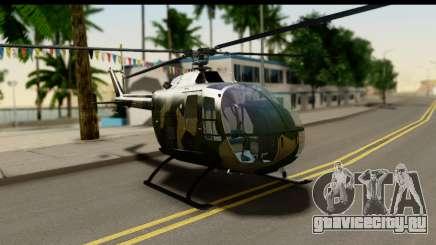 MBB Bo-105 Army для GTA San Andreas