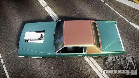 Albany Manana GTA V Style для GTA 4 вид справа