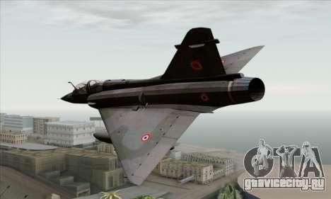 Dassault Mirage 2000-N SAM для GTA San Andreas вид слева