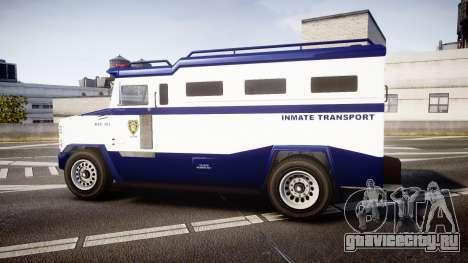 GTA V Brute Police Riot [ELS] skin 3 для GTA 4 вид слева