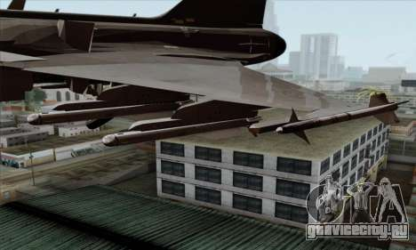 JAS-39 Gripen NG ACAH для GTA San Andreas вид справа