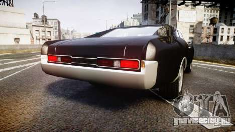 Imponte Dukes Fast and Furious Style для GTA 4 вид сзади слева