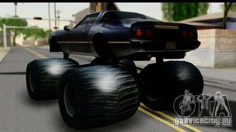 Monster Phoenix для GTA San Andreas вид слева