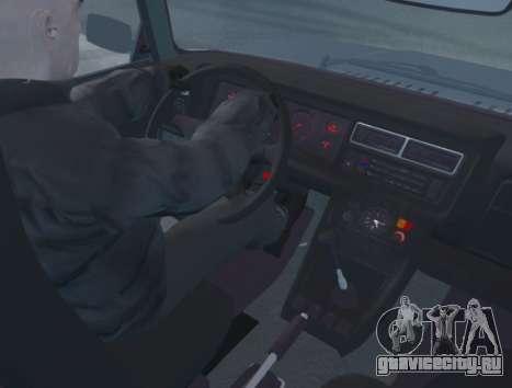 ВАЗ 2107 Сток для GTA 4 вид справа