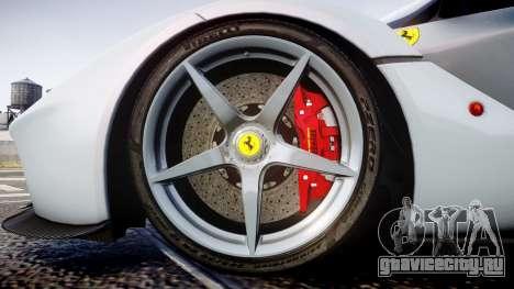 Ferrari LaFerrari 2013 HQ [EPM] для GTA 4 вид сзади