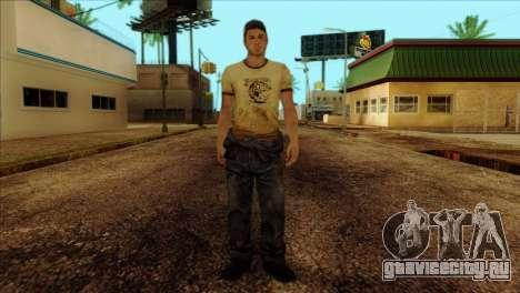 Ellis from Left 4 Dead 2 для GTA San Andreas