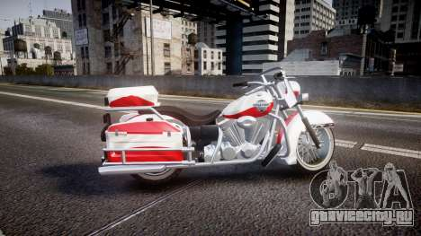 GTA V Western Motorcycle Company Sovereign POL для GTA 4 вид слева