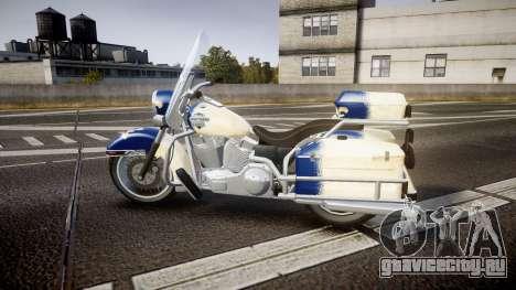 GTA V Western Motorcycle Company Sovereign QC для GTA 4 вид слева