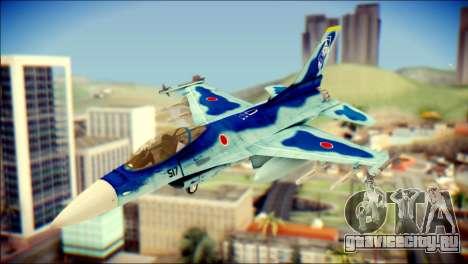 Mitsubishi F-2A JASDF v3.0 для GTA San Andreas