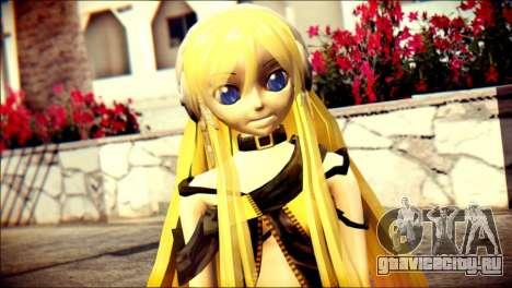 Lilly from Vocaloid для GTA San Andreas третий скриншот