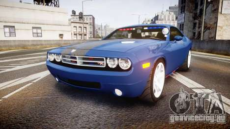 Dodge Challenger RT 2006 Pursuit Vehicle [ELS] для GTA 4