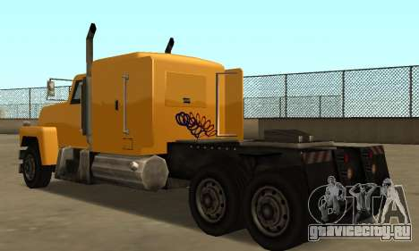 PS2 Tanker для GTA San Andreas вид справа