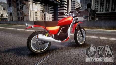 GTA V Dinka Enduro для GTA 4 вид слева