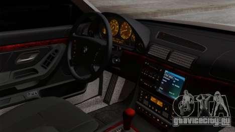 BMW 750iL E38 Romanian Edition для GTA San Andreas вид справа