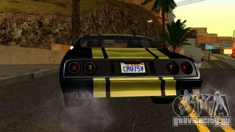 GTA 5 Imponte Phoenix IVF для GTA San Andreas вид сбоку